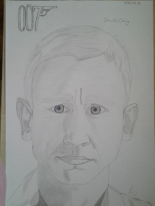 Daniel Craig by Vanus94